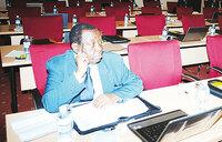 Ministers skip training