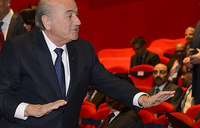 FIFA's Blatter defiant as re-election vote looms