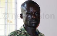 UPDF soldier denies shooting three dead in Gulu bar