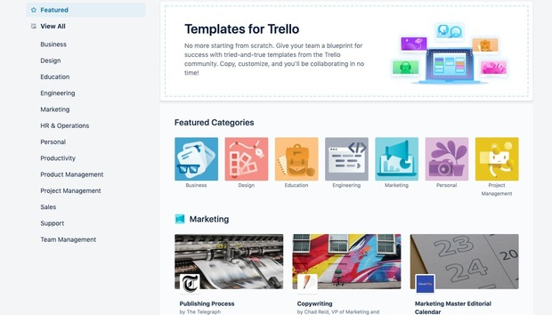 Trello looks to streamline tasks with template galleries, automation