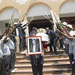 Family pay last respects to cricket icon