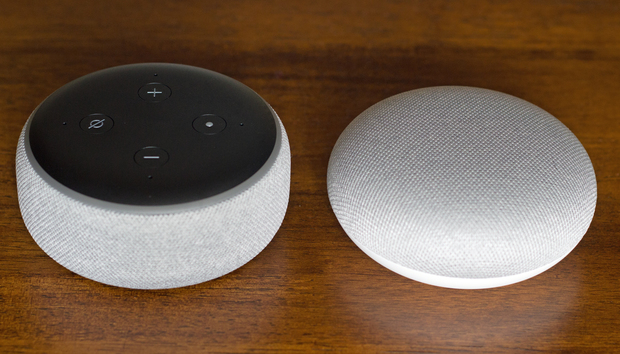 Amazon Echo Dot vs. Google Home Mini