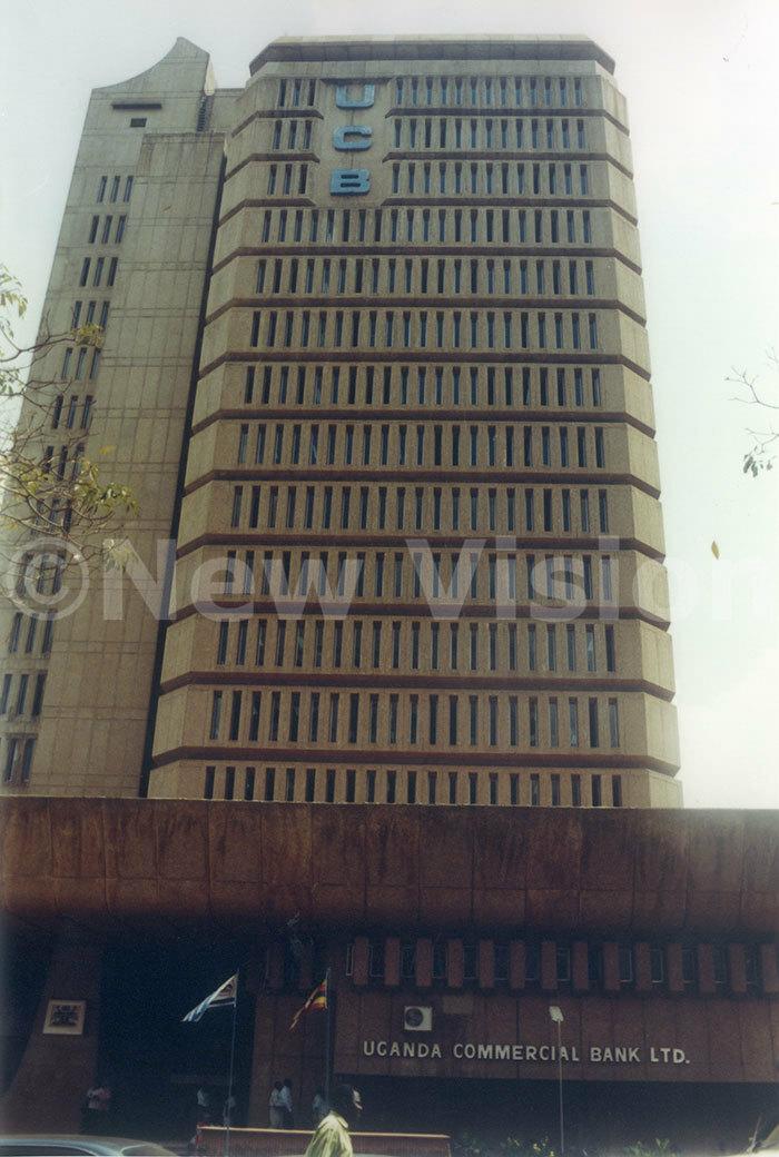 ganda ommercial ank building