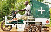 Bike ambulances for Mbale expectant mothers