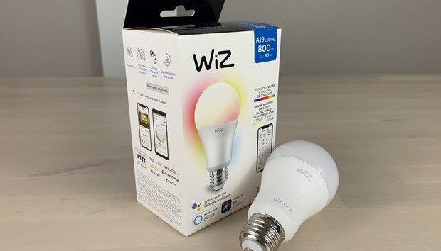 WiZ Connected Color and Tunable White A19 bulb review: A colorful Wi-Fi smart bulb that won't break the bank