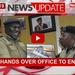Kayima hands over office to Enanga