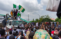 Nigerian demos rage on as protesters allege assault