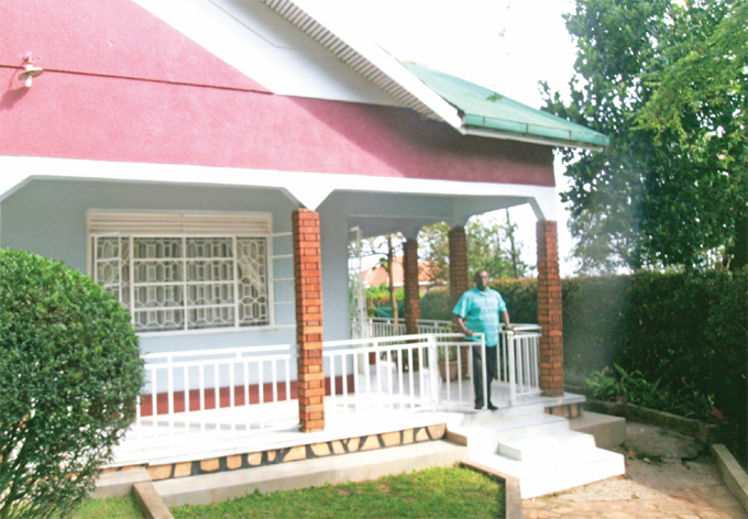 enkubuge bought the land on which he built this house at sh15m hotos by avid ukiza