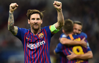 Champions League: Messi outguns Spurs, Liverpool stunned