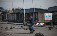 Protests in eastern DR Congo after new election delay