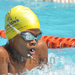 Chameleon's son Abba continues his steady rise in swimming