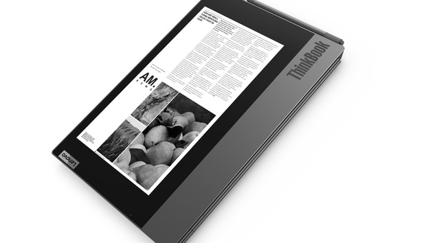 Lenovo's ThinkBook Plus adds a secondary E Ink display to help you focus