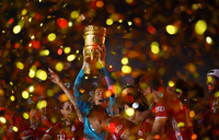 Neuer says Bayern 'hungry' for treble after Cup triumph