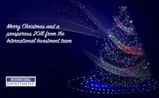 Season's greetings from all at International Investment
