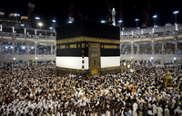 Muslim pilgrims in mass movement to start hajj|