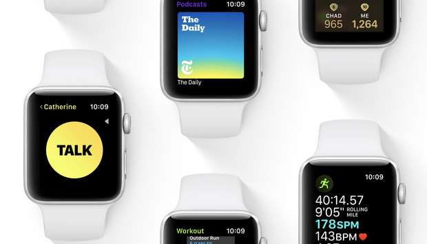 watchOS 5: Walkie-talkie, workout improvements, Podcasts, and a