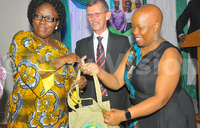 Nobel prize winner wants Ugandans to turn into enterprenuers