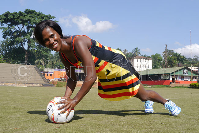 achael anyonga was arguably gandas best player at the 2015 and 2019 etball orld ups