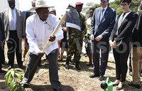 In Pictures: Museveni commissions Ggaba water plant
