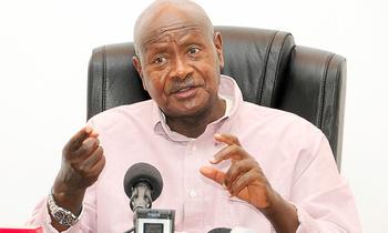 Museveni press conference 05 350x210