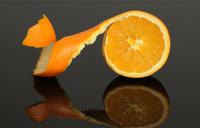 Is orange peel as healthy as the fruit inside?