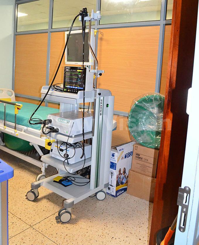 ndoscopy machine donated by  hoto by iolet abatanzi