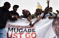 Zimbabweans take to streets in anti-Mugabe march
