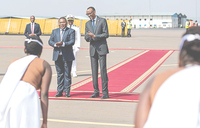 Mozambique president on three day visit to Kigali