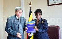 Kadaga receives EU election observers report