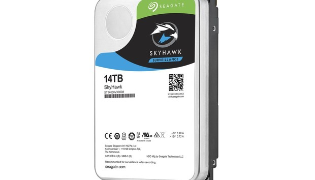Seagate SkyHawk 14TB hard drive review: Fast, surveillance-optimized storage