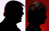 Pressure is on Clinton, Trump in first debate