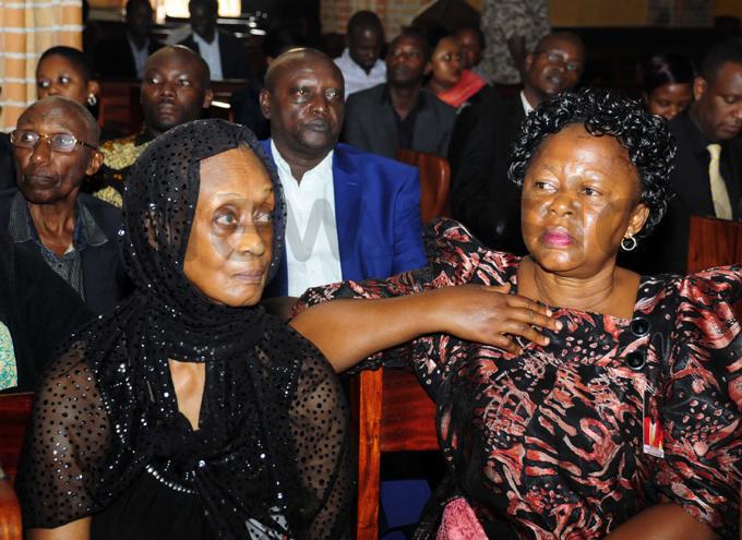 rincess lizabeth agaya  of oro was one of the mourners hoto by ddie sejjoba