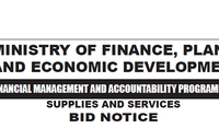 The Ministry of Finance, Planning and Economic Development
