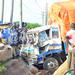 Lorry rams into traffic lights at Nakawa
