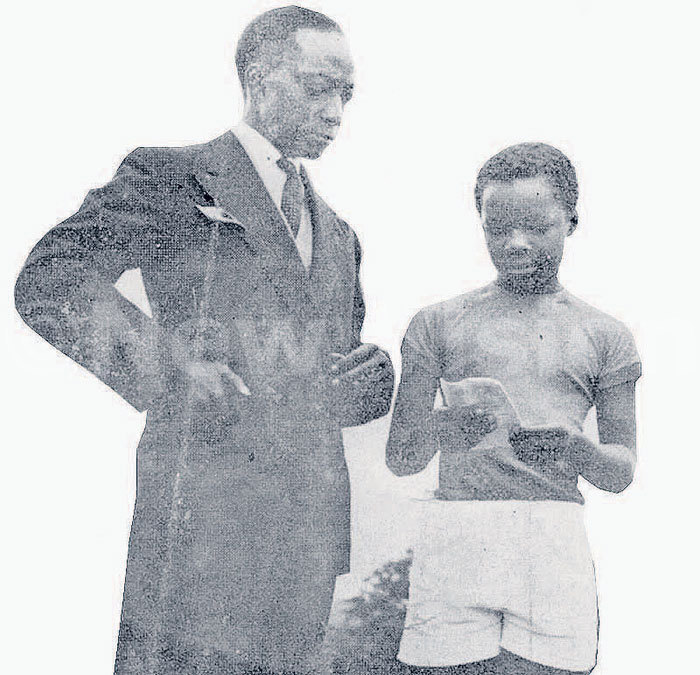 he historic photo of utesa visiting utebi in ondon after fleeing engo attack