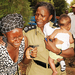 Mother re - united with her kidnapped children