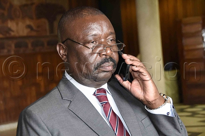 wesigwa ukutana took exception to the line of questioning when he appeared before the land probe commission hoto by ennedy ryema