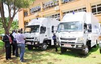 Masaka, Jinja hospitals get mobile workshop trucks