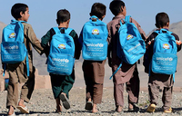 Nearly half of Afghan children out of school: UN