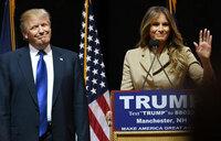 Melania Trump sues news outlets that said she was an escort