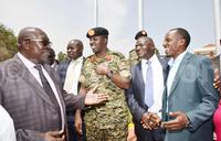 EAC armies in Uganda for Tarehe Sita activities