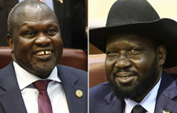 South Sudan foes sign 'preliminary' power-sharing deal
