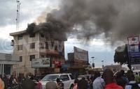 Fire destroys radio station in Jinja