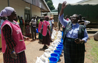 Parliament staff donate food items to Teso
