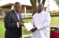Museveni receives special message from Angola leader