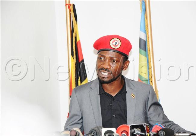 Kyadondo East MP Robert Kyagulanyi aka Bobi Wine. Photo/File