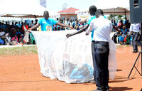 Mosquito net distribution reaches Kampala