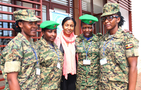 UN commence signal training for female peacekeepers