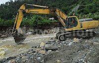 Works on Nyamwamba river start after flood disaster