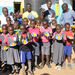 Eboue tips Rita Education Center pupils on education